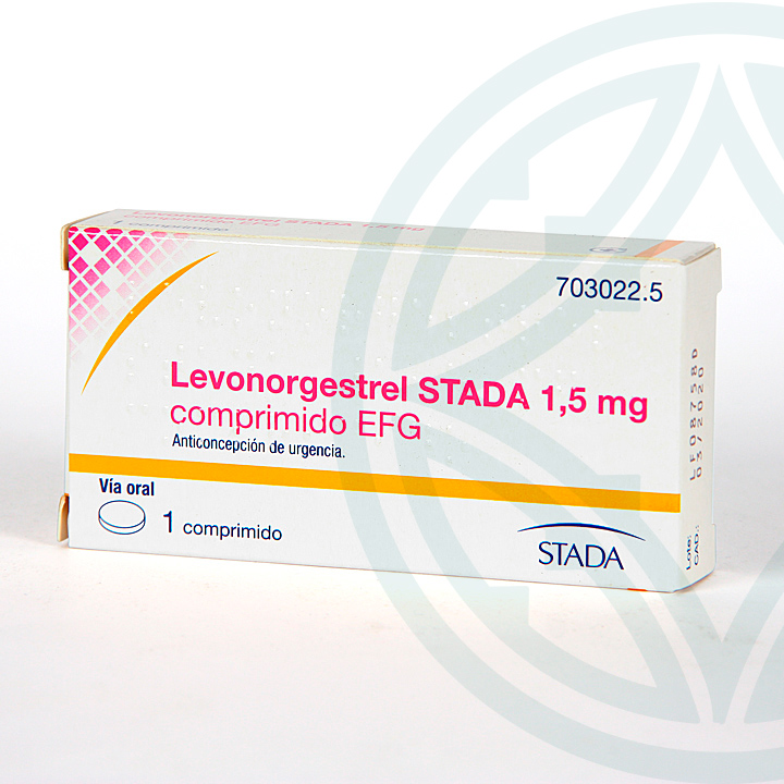 Farmacia Jiménez | Levonorgestrel Stada EFG 1.5 mg 1 comprimido