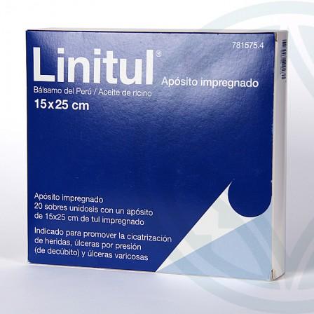 Farmacia Jiménez | Linitul 20 apósitos monodosis 15×25 cm