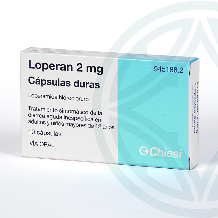 Farmacia Jiménez | Loperan 10 cápsulas