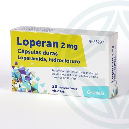 Farmacia Jiménez | Loperan 20 cápsulas