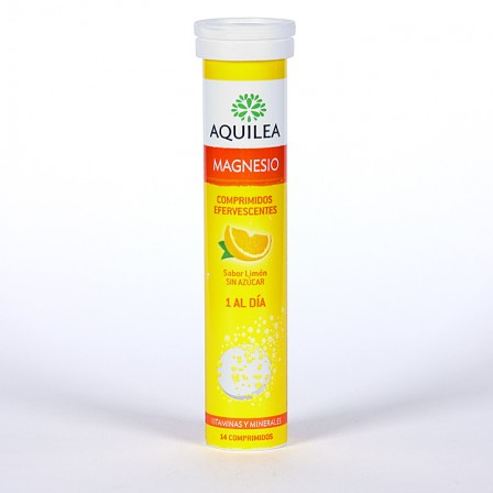 Farmacia Jiménez | Magnesio Aquilea 14 comprimidos efervescentes