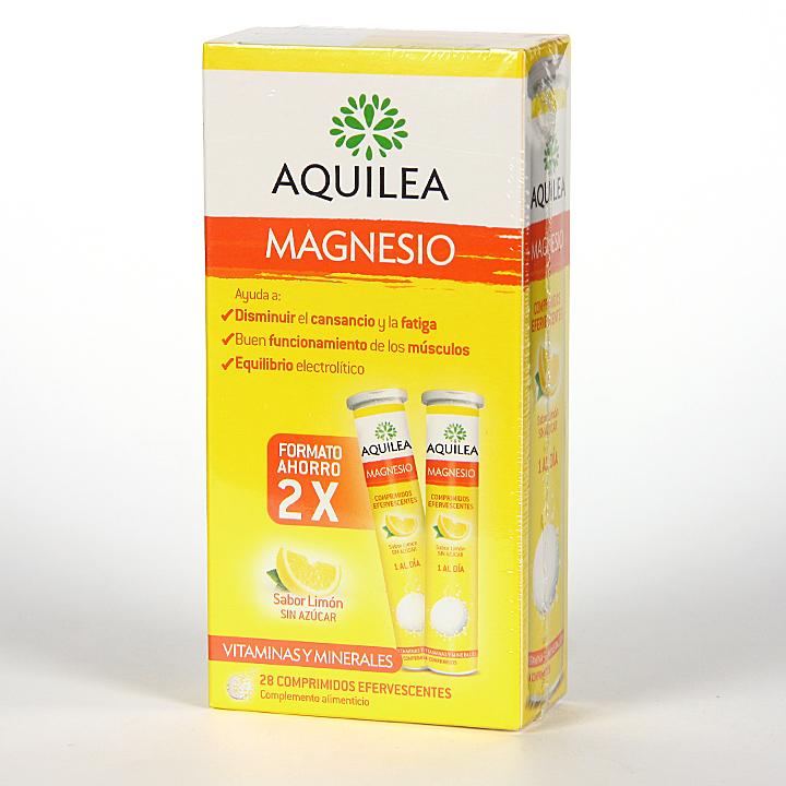 Farmacia Jiménez | Magnesio Aquilea 28 comprimidos efervescentes Pack