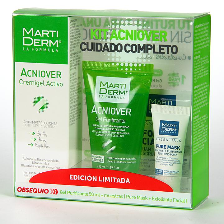 Farmacia Jiménez | Martiderm Kit Acniover Cuidado Completo Pack