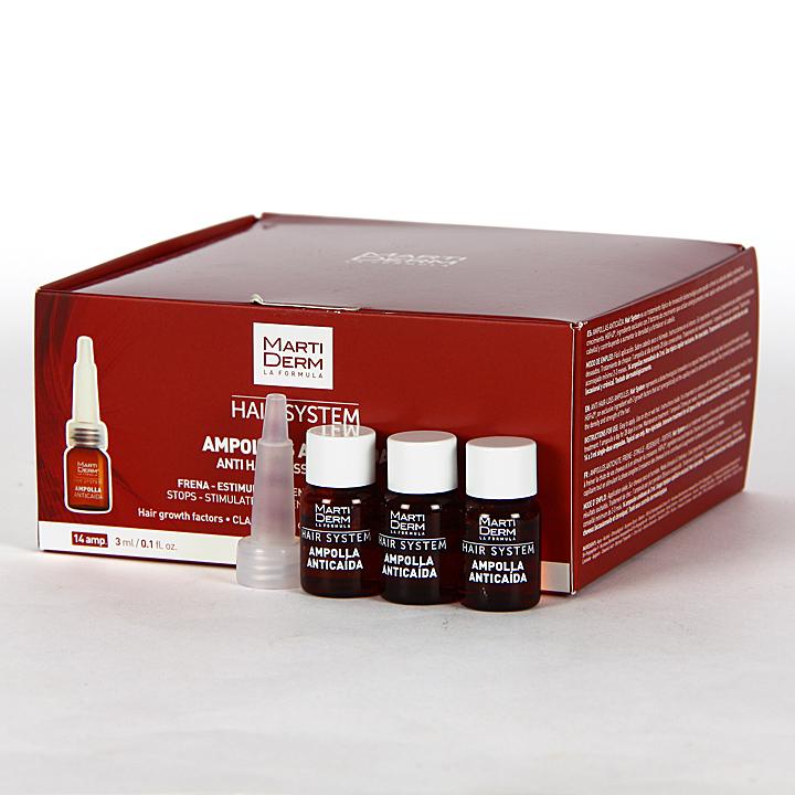 Farmacia Jiménez | Martiderm Ampollas Anticaída 14 ampollas