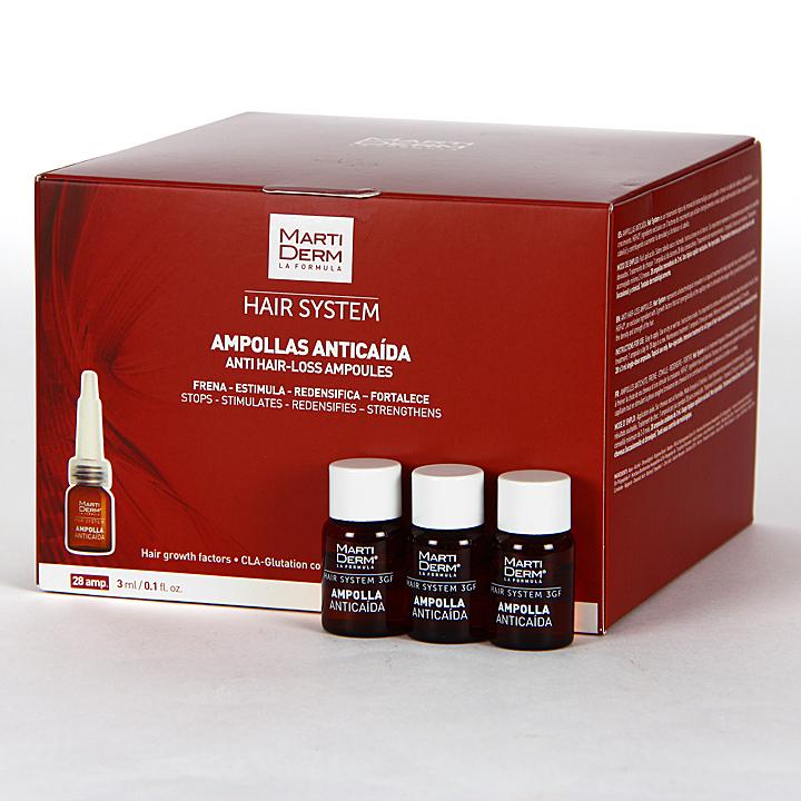 Farmacia Jiménez | Martiderm Ampollas Anticaída 28 ampollas