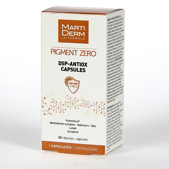 Farmacia Jiménez | Martiderm Pigment Zero Dsp Antiox 60 cápsulas