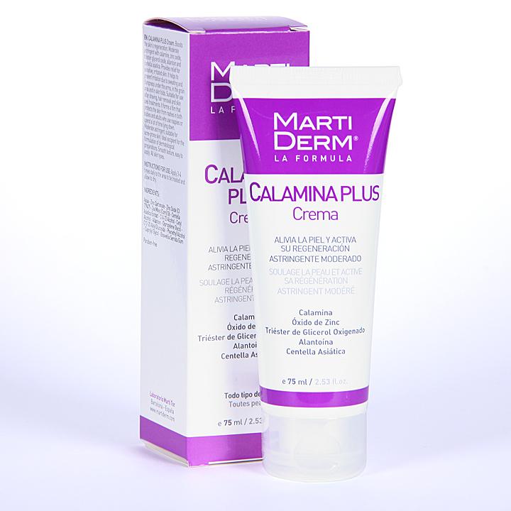 Farmacia Jiménez | Martiderm Calamina Plus crema 75 ml