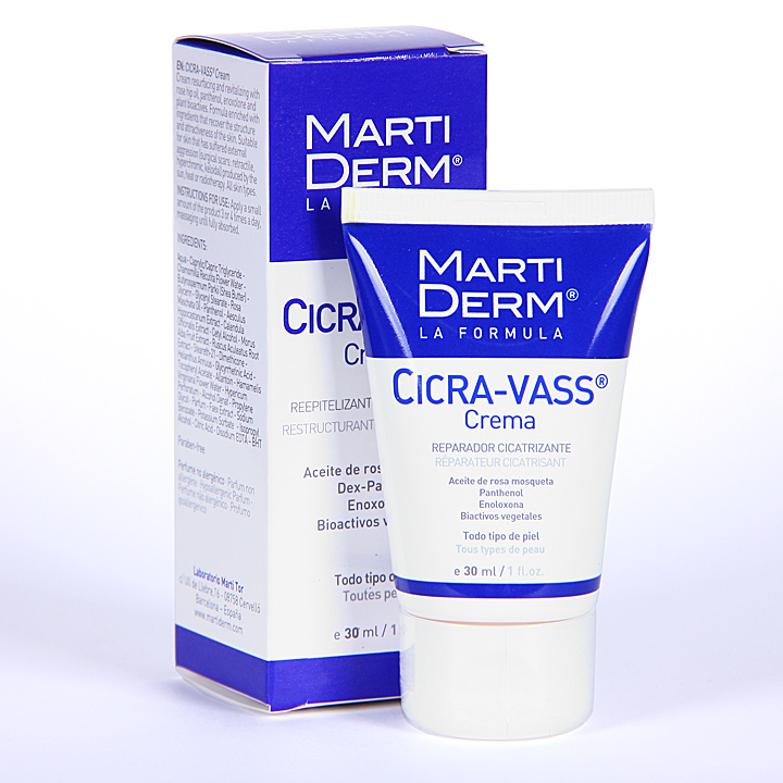Farmacia Jiménez | Martiderm Cicra-Vass crema 30 ml