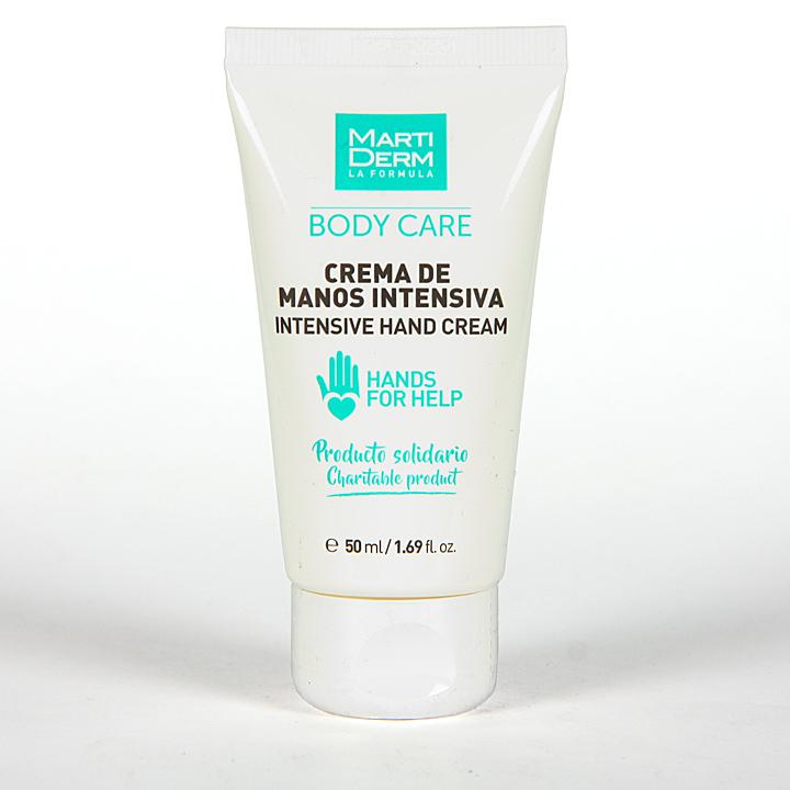 Farmacia Jiménez | Martiderm Crema de manos Intensiva 50 ml