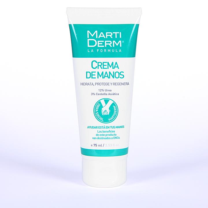 Farmacia Jiménez | Martiderm Crema de manos Intensiva 75 ml
