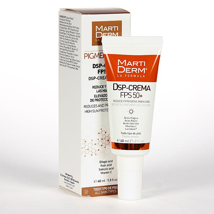 Farmacia Jiménez | Martiderm Pigment Zero DSP-Crema FPS 50+ 40 ml