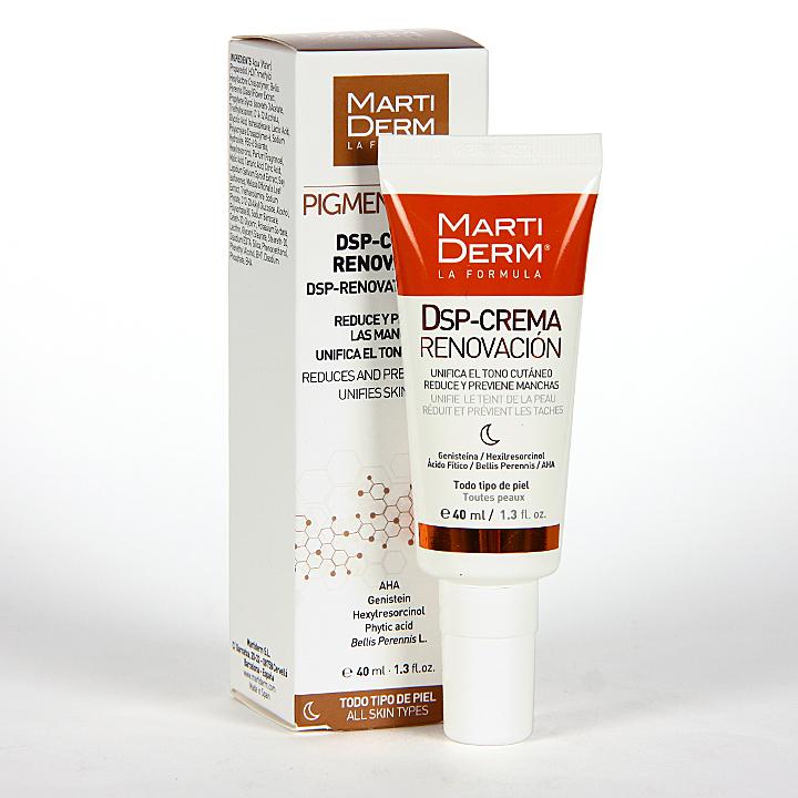 Farmacia Jiménez | Martiderm Pigment Zero DSP-Crema Renovación 40 ml