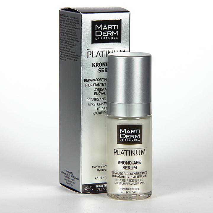 Farmacia Jiménez | Martiderm Krono-Age Serum Platinum 30 ml