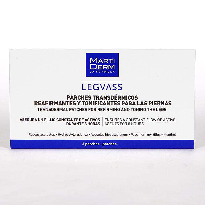 Farmacia Jiménez | Martiderm Legvass Parches transdermicos 3 Unidades