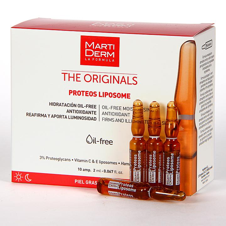 Farmacia Jiménez   Martiderm Proteos Liposome The Originals 10 ampollas