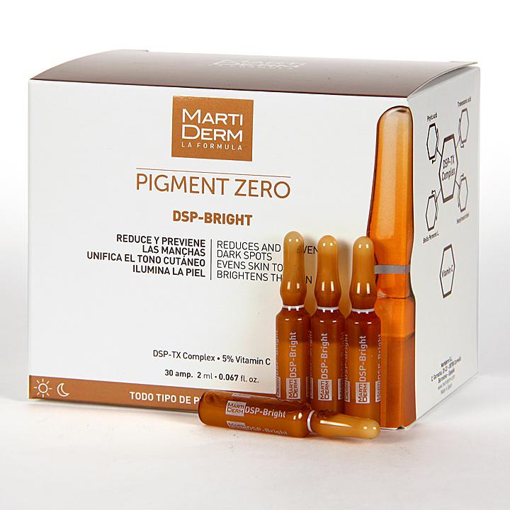 Ampollas Martiderm Pigment Zero Dsp-Bright