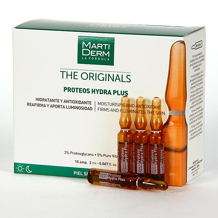 Farmacia Jiménez | Martiderm Proteos Hydra Plus 10 ampollas