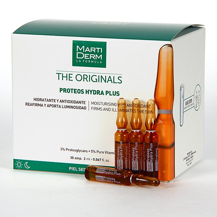 Ampollas Martiderm Proteos Hydra Plus 30 Ampollas