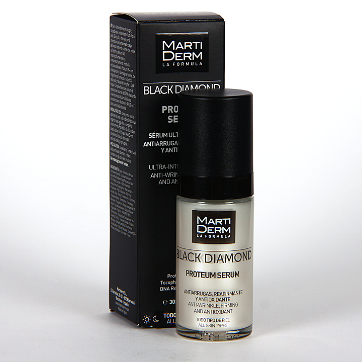 Farmacia Jiménez | Martiderm Proteum Serum Cristal Black Diamond 30 ml