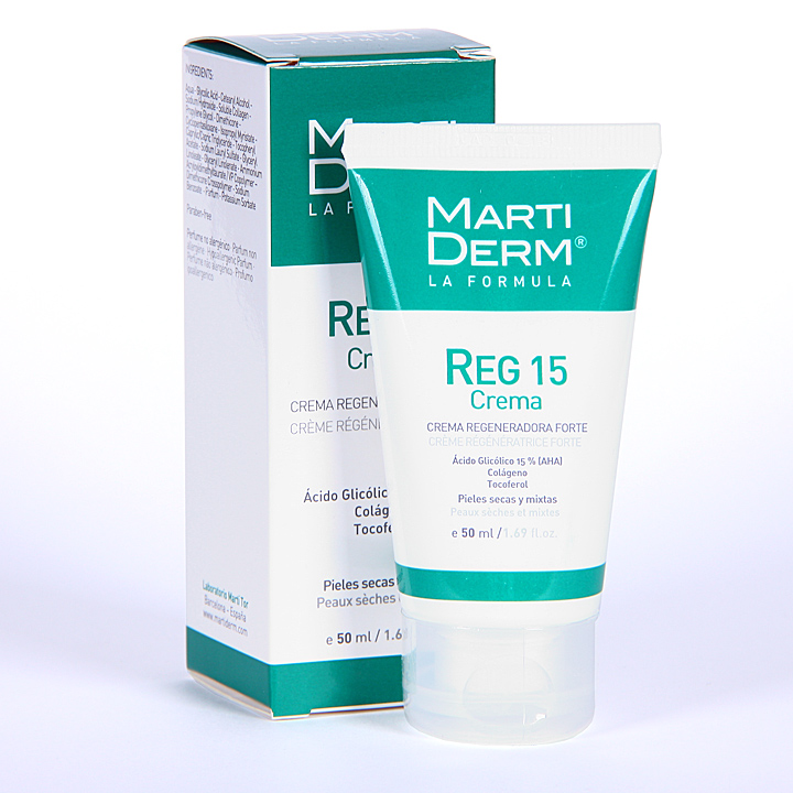 Farmacia Jiménez | Martiderm Reg 15 Crema Regeneradora forte 50 ml