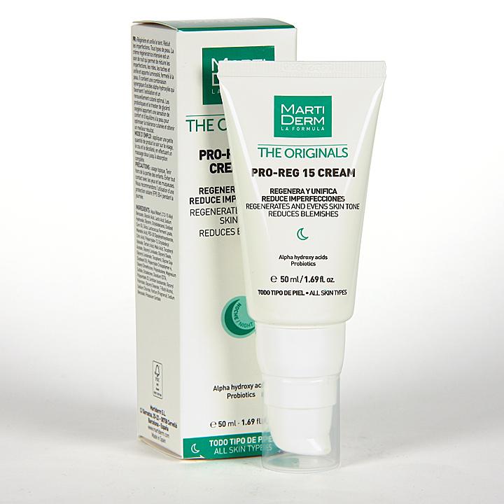 Farmacia Jiménez | Martiderm Pro-Reg 15 Crema 50 ml