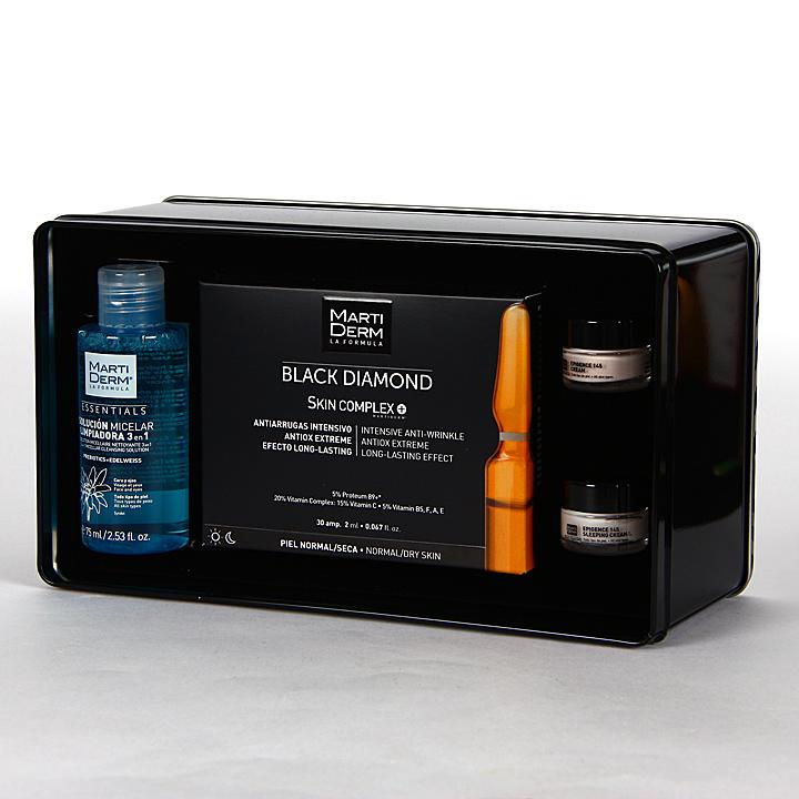 Farmacia Jiménez | Martiderm Skin Complex 30 Ampollas Black Diamond Box Pack Promoción 20%