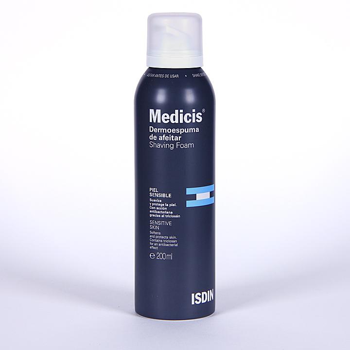 Farmacia Jiménez | Medicis Isdin Dermoespuma de afeitar 200 ml