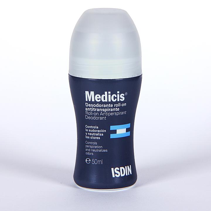 Farmacia Jiménez | Medicis Isdin Desodorante Roll-on Antitranspirante 50 ml