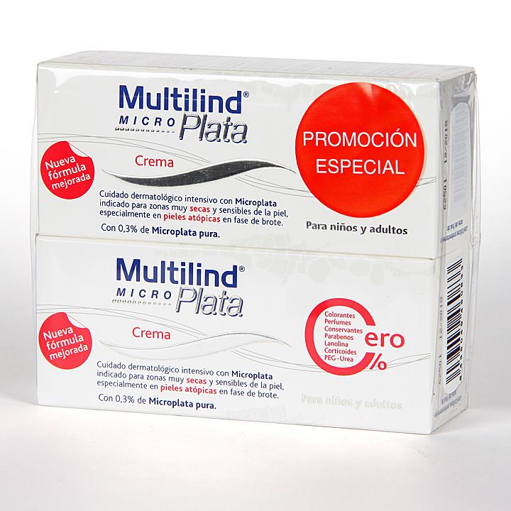 Farmacia Jiménez | Multilind Micro Plata Crema 75 ml Pack Duplo