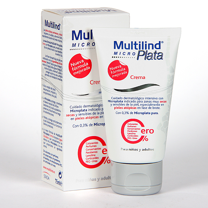 Farmacia Jiménez | Multilind Micro Plata Crema 75 ml