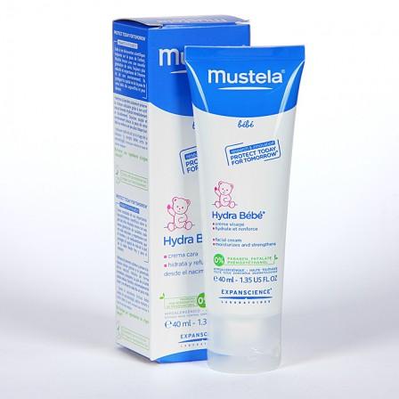 Farmacia Jiménez | Mustela Hydrabebé crema facial 40 ml