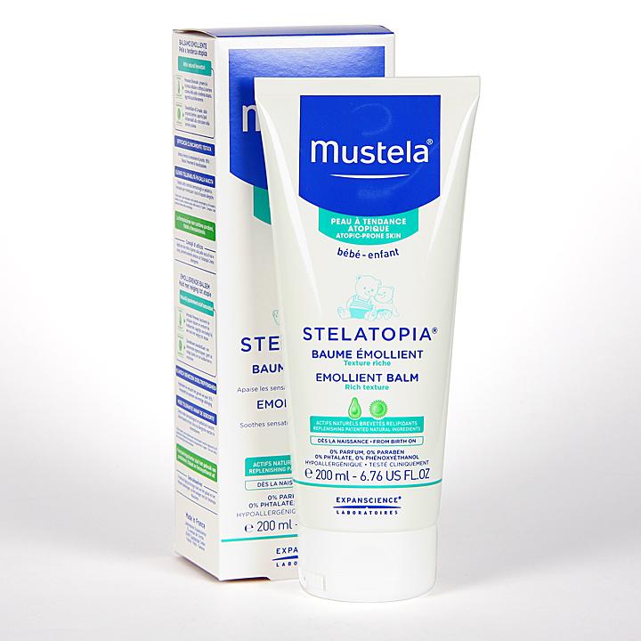 Farmacia Jiménez | Mustela Stelatopia Bálsamo Emoliente 200 ml