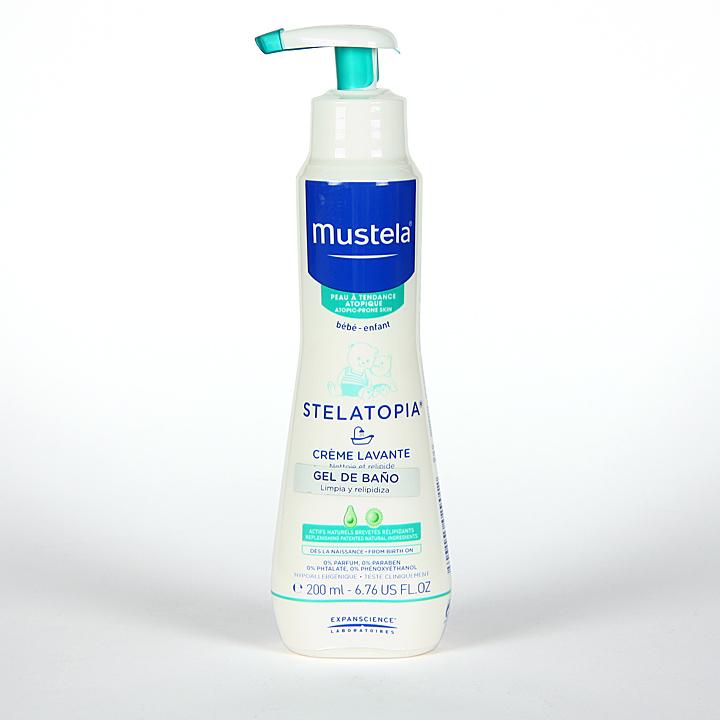 Mustela stelatopia b lsamo emoliente 200 ml farmacia jim nez - Mejor gel de bano ...