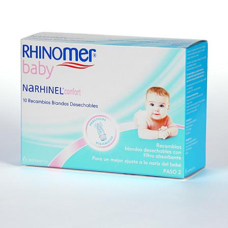 Farmacia Jiménez | Narhinel Confort 10 recambios blandos desechables
