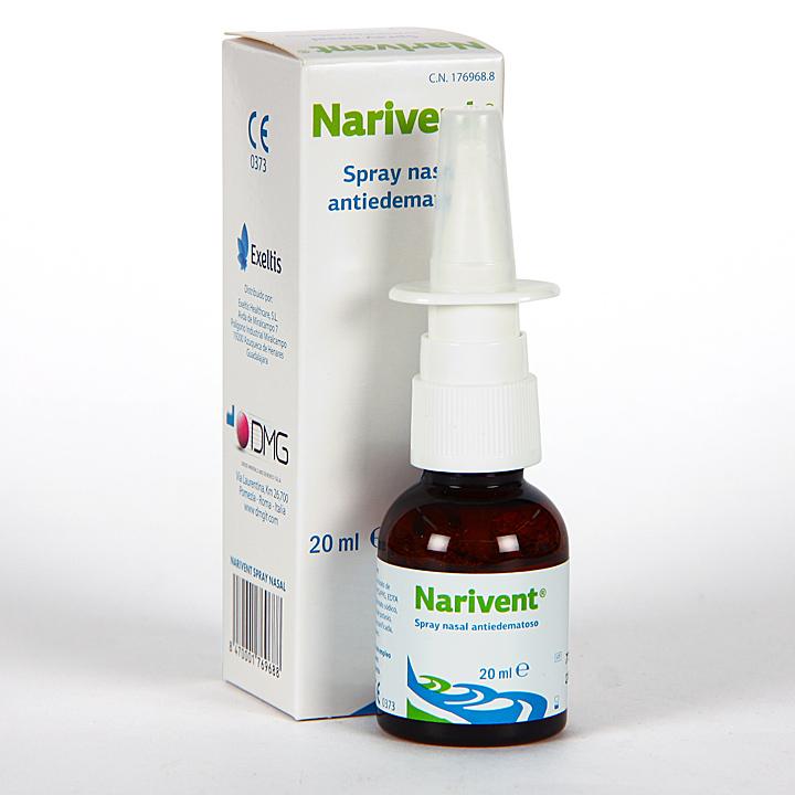 Farmacia Jiménez | Narivent Spray Nasal Antiedematoso 20 ml