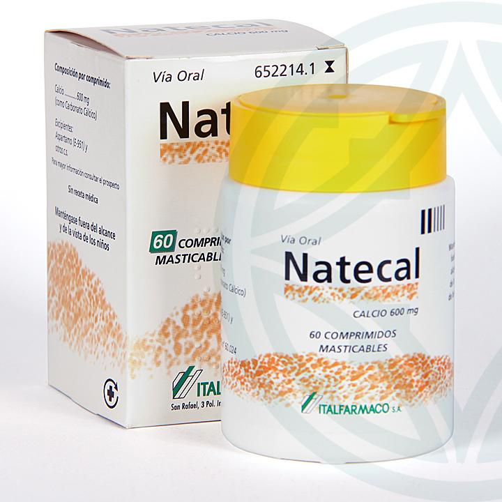 Farmacia Jiménez | Natecal 60 comprimidos masticables