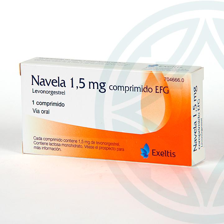 Farmacia Jiménez | Navela 1,5 mg 1 comprimido