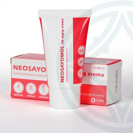Farmacia Jiménez | Neosayomol crema 30 g