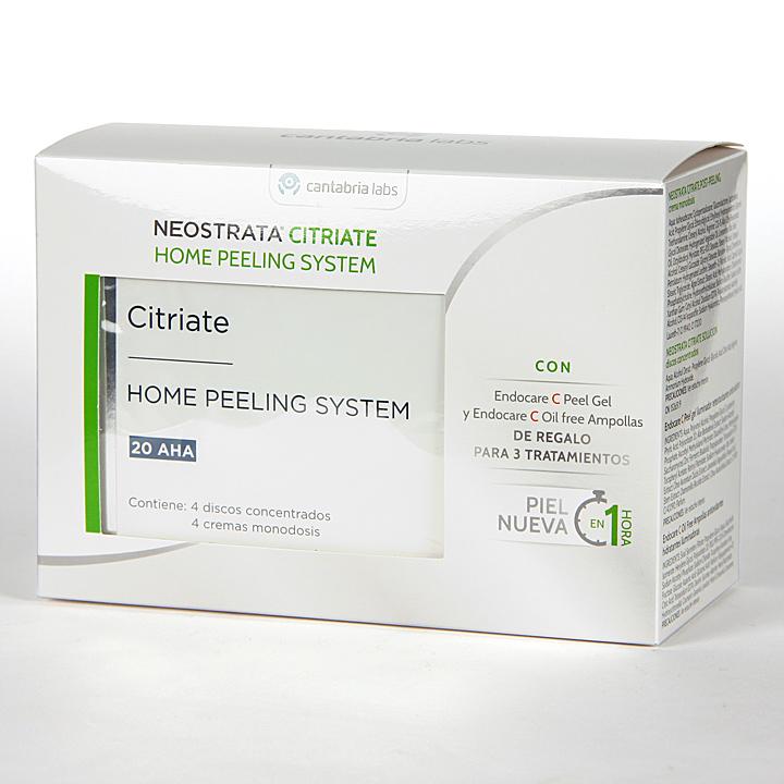 Farmacia Jiménez | NeoStrata Targeted Citriate Home Peeling 4 Discos Pack Ampollas + C Peel