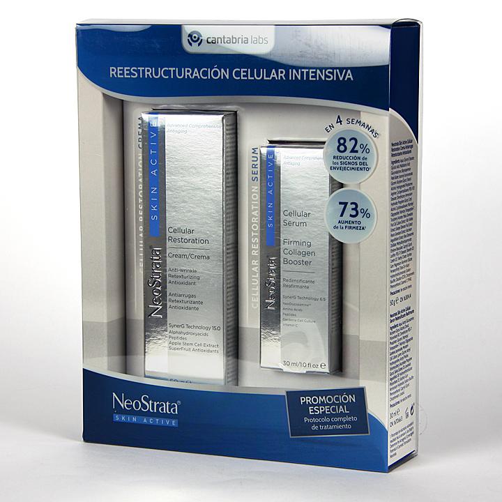 Farmacia Jiménez | Neostrata Skin Active Crema Cellular + Serum Cellular Pack Duplo