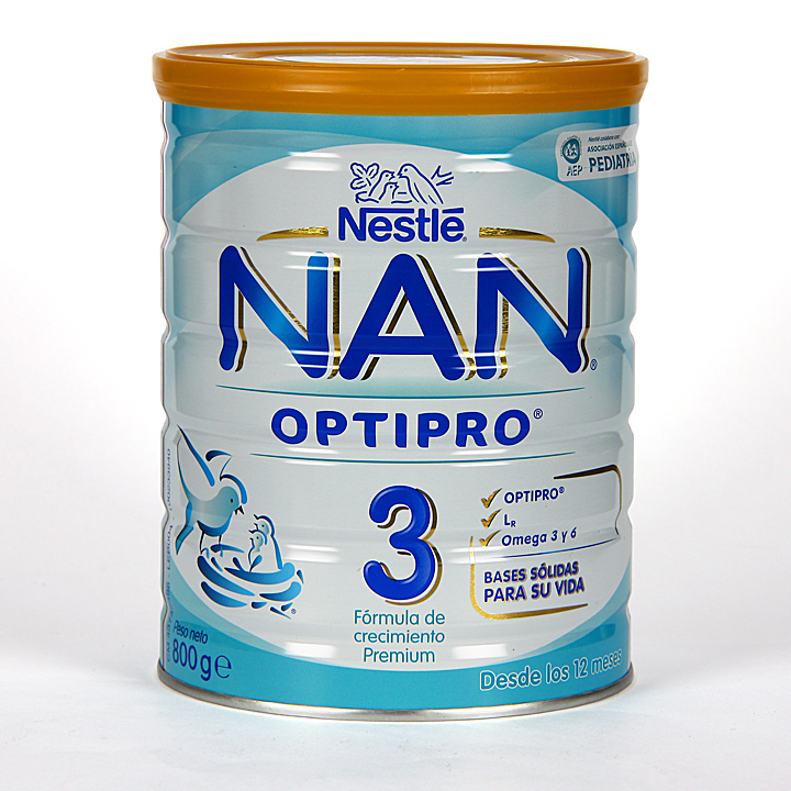 Farmacia Jiménez | Nestle Nan Optipro 3 800 g