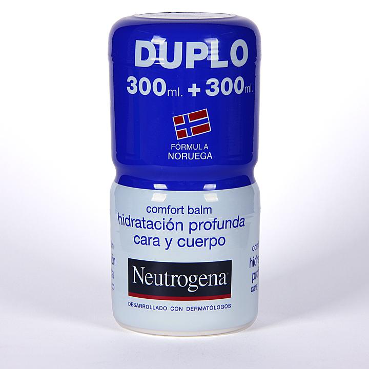 Farmacia Jiménez | Neutrogena Confort Balm hidratante corporal 300 + 300 ml gratis