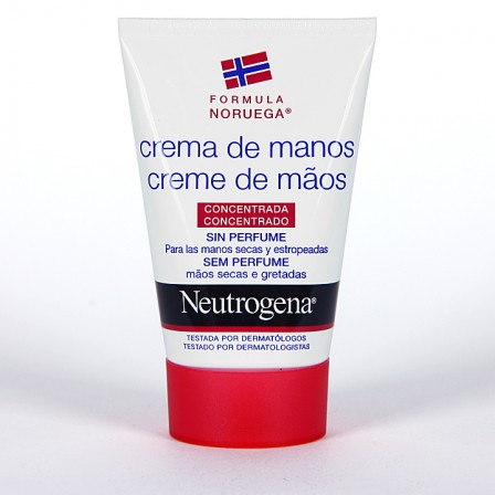 Farmacia Jiménez | Neutrogena Crema de Manos Concentrada sin perfume 50 ml