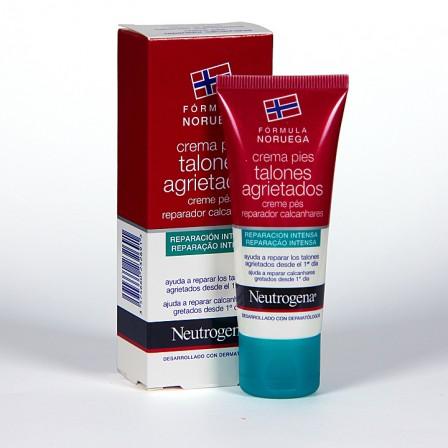 Farmacia Jiménez | Neutrogena Crema de pies para talones agrietados 40 ml