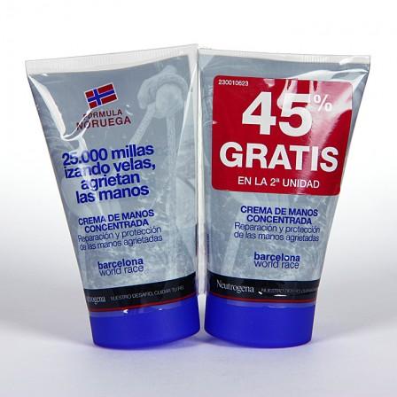 Farmacia Jiménez | Neutrogena Crema de manos concentrada Duplo 50 ml