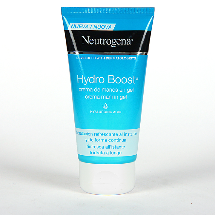 Farmacia Jiménez | Neutrogena Hydro Boost Crema de Manos en Gel 75 ml