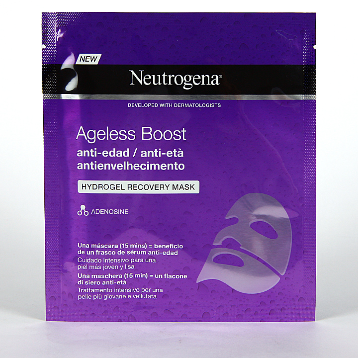 Farmacia Jiménez | Neutrogena Ageless Boost Máscara Facial Antiedad 30 ml