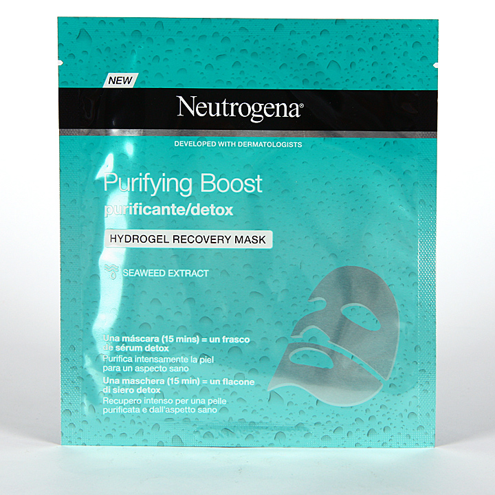 Farmacia Jiménez | Neutrogena Purifying Boost Máscara Facial Purificante 30 ml