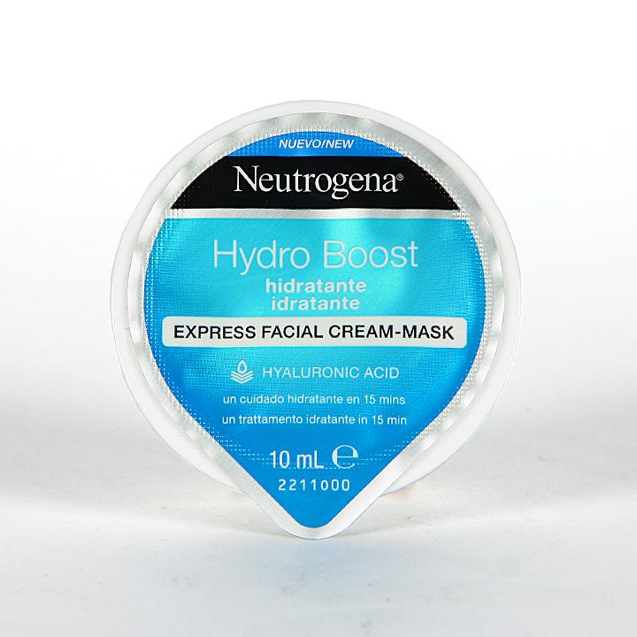 Farmacia Jiménez | Neutrogena Hydro Boost Mascarilla Express Hidratante 10 ml