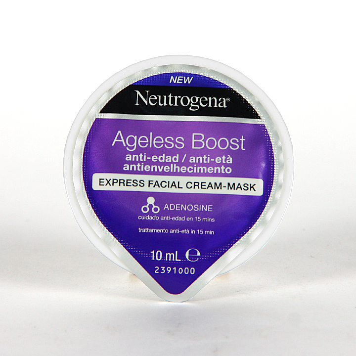 Farmacia Jiménez | Neutrogena Ageless Boost Mascarilla Express Antiedad 10 ml